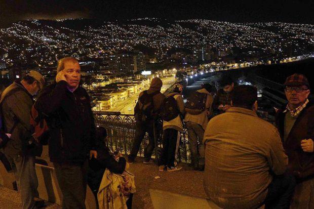 Χιλή: Σεισμός 7,7 βαθμών-Προειδοποίηση για τσουνάμι