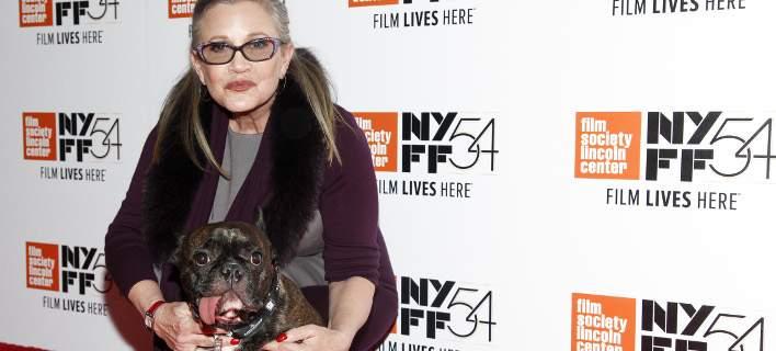 Πέθανε η Κάρι Φίσερ. Η «πριγκίπισσα Λέια» από το Star Wars