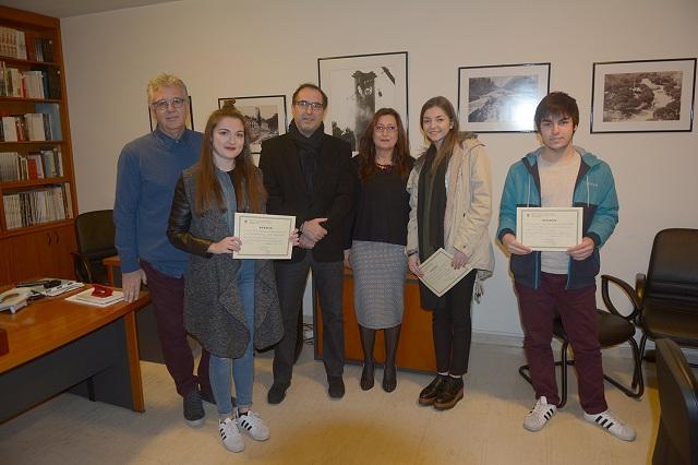 Απονεμήθηκαν τα δημοσιογραφικά βραβεία «Μαρκατά» σε τέσσερις Θεσσαλούς φοιτητές