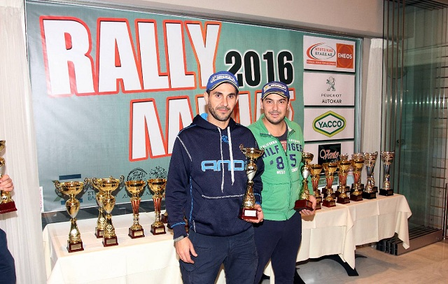 GRally Awards 2016: Βολιώτικο πλήρωμα έφτασε στην κορυφή