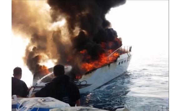 Τουρίστες κάηκαν ζωντανοί σε ιστιοφόρο στην Ιταλία [vid]