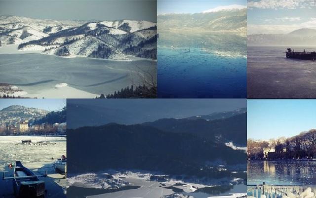Παγωμένες λίμνες της Ελλάδας