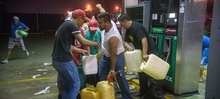 Βίαια επεισόδια στο Μεξικό από την αύξηση στην τιμή της βενζίνης