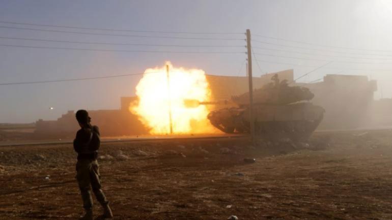 Συρία: Νεκροί 38 τζιχαντιστές από τις πολεμικές επιχειρήσεις των τουρκικών ενόπλων δυνάμεων