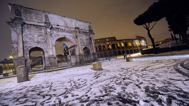Τρεις νεκροί από το ψύχος στην Ιταλία