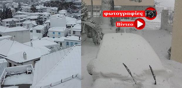 Μισό μέτρο χιόνι σε Αλόννησο και Σκόπελο