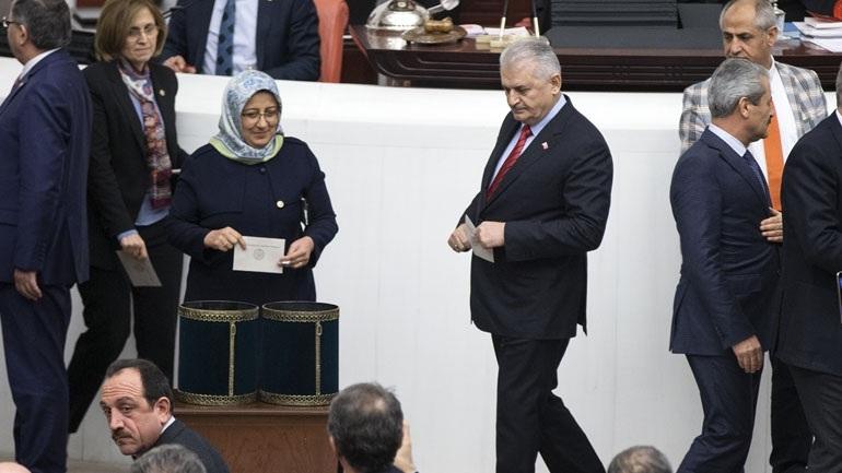 Τουρκία: Υπέρ της συνταγματικής μεταρρύθμισης ψήφισαν 338 βουλευτές