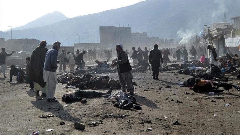 Λουτρό αίματος στο Αφγανιστάν - Τραυματίστηκε ο πρεσβευτής των Ηνωμένων Αραβικών Εμιράτων