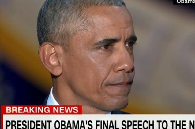 Με δάκρυα και μήνυμα η αποχαιρετιστήρια ομιλία Ομπάμα