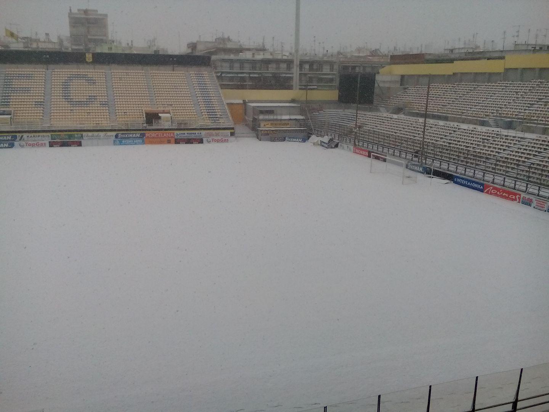 Nέα αναβολή λόγω χιονιά ανακοίνωσε η ΕΠΟ