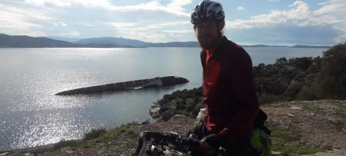 Βρετανός διέσχισε 17 χώρες με ποδήλατο. Τα μέρη στην Ελλάδα που τον εντυπωσίασαν