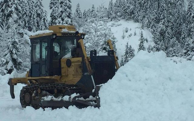Η Περιφέρεια Θεσσαλίας για τους χιονιάδες των τελευταίων εβδομάδων