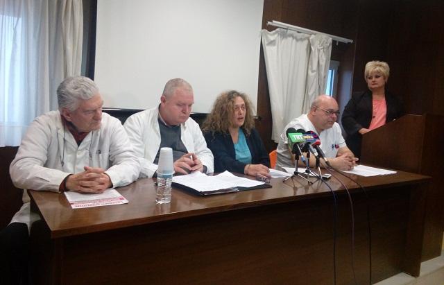 Δριμεία επίθεση εργαζομένων και γιατρών στον Μ. Δραμητινό