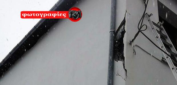 Τρόμος και ζημιές στο Πουρί Πηλίου από πτώση κεραυνού