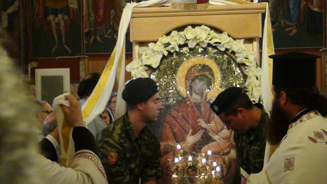 Η θαυματουργή Εικόνα της Παναγίας Δοχειαρίτισας στην Ευξεινούπολη