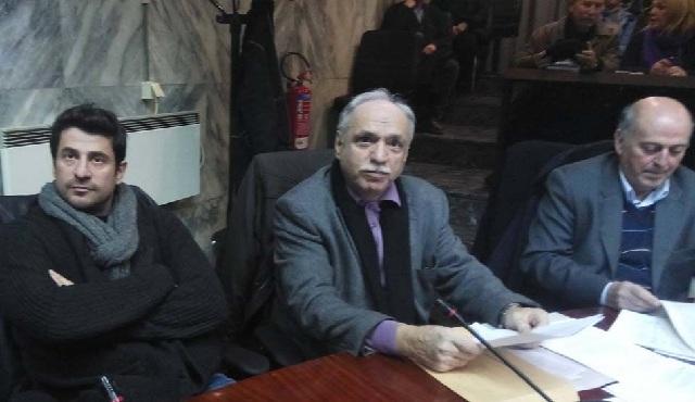 Εδωσε το παρόν στο Δημοτικό Συμβούλιο Λάρισας ο Αλέξης Γεωργούλης