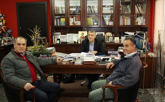 Συνάντηση Αγοραστού με μέλη της ΕΤΕ ΔΕΗ για τη Μεσοχώρα