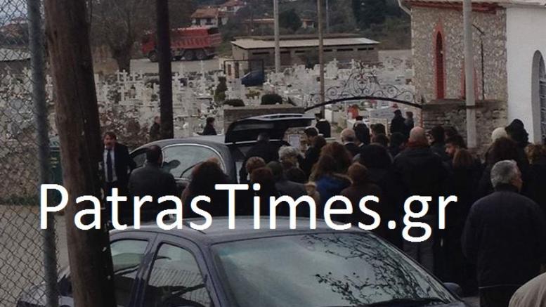 Θρήνος στην κηδεία του 21χρονου φοιτητή που κρεμάστηκε στην Πάτρα