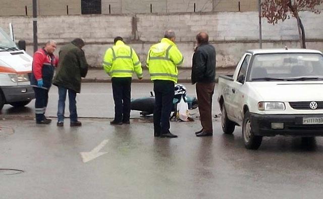 Τραυματίας νέος άνδρας σε τροχαίο