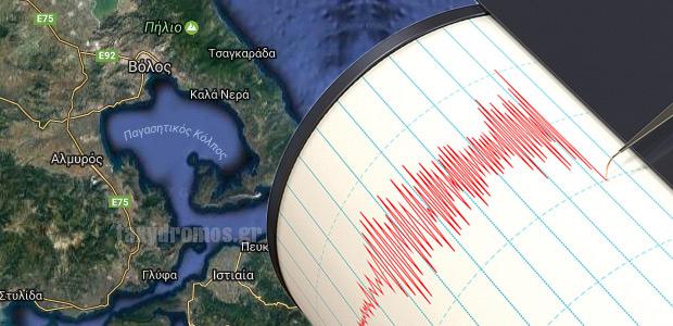 Τέσσερις σεισμοί χθες στο Βόλο