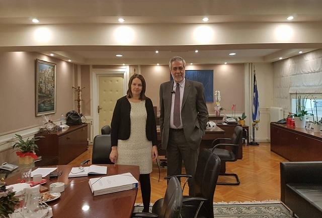 Επίσκεψη Εσερίδη στην Αθήνα