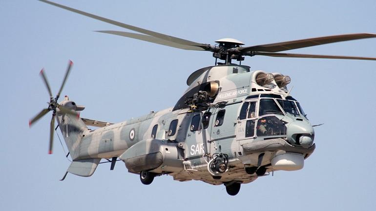 Αεροδιακομιδή ναυτικού με ελικόπτερο Super Puma. Ανακρίσεις για τον τραυματισμό του