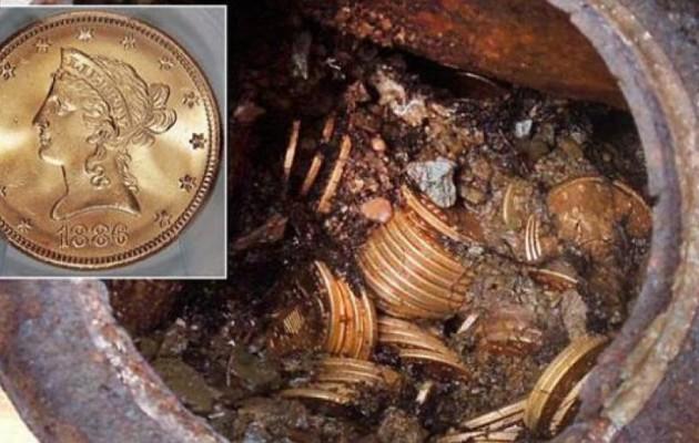 Εύβοια: Ο θρύλος του αμύθητου θησαυρού. Υπάρχουν 12 σεντούκια με λίρες και διαμάντια
