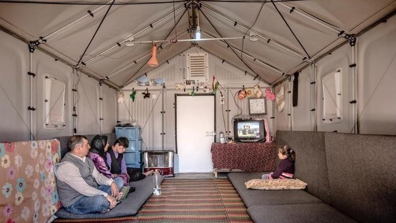 Ιδιοφυές καταφύγιο για πρόσφυγες κέρδισε μια θέση στην ιστορία της τέχνης