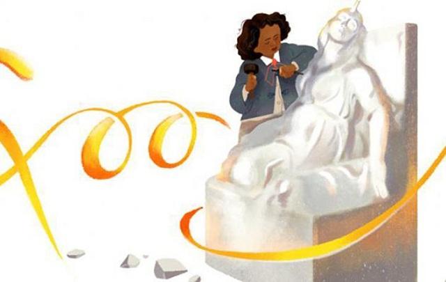 Σήμερα η Google τιμά την μυστηριώδη γλύπτρια Edmonia Lewis