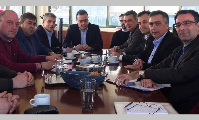 Ευρεία σύσκεψη στο υπουργείο για το υδροηλεκτρικό έργο της Μεσοχώρας