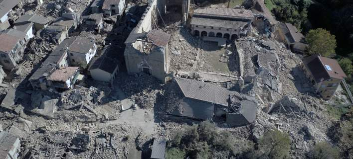 Δεν έχουν σταματημό οι σεισμοί στην Ιταλία. Ξαναχτύπησε δύο φορές ο εγκέλαδος