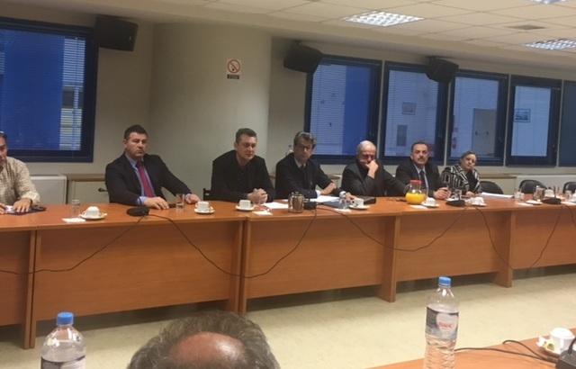 Ευρεία σύσκεψη στο Υπουργείο για τις ακτοπλοϊκές συγκοινωνίες των νησιών