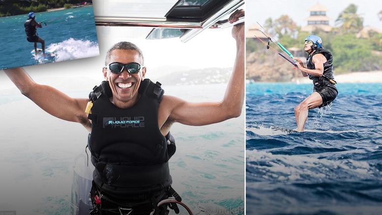 Ξεχάστε τον Ομπάμα που ξέρατε: Πλέον σαρώνει στα extreme sports