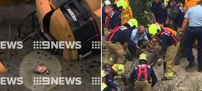 Αυστραλός εγκλωβίστηκε σε δεξαμενή και πάλευε επί ώρες να κρατήσει το κεφάλι του