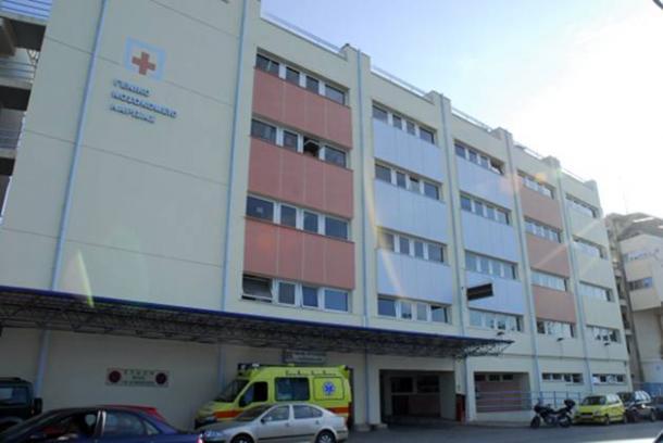 Ασανσέρ έφυγε στο κενό και έπεσε στο 2ο υπόγειο στο Νοσοκομείο Λάρισας!