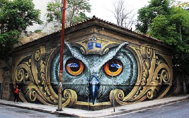 Βανδάλισαν το ωραιότερο γκραφίτι της Αθήνας