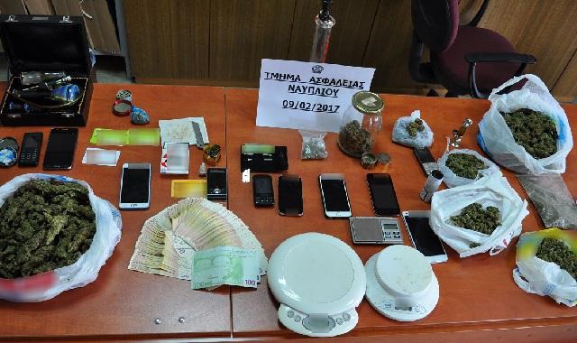 Δύο εγκληματικές οργανώσεις που διακινούσαν ναρκωτικά δρούσαν στην Καρδίτσα