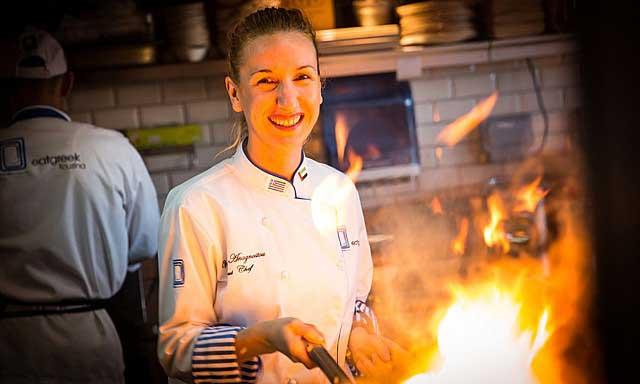 Βολιώτισσα σεφ διακρίνεται στο Ντουμπάι