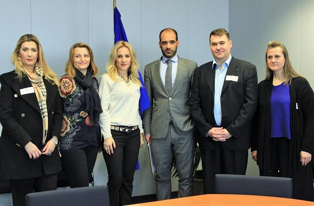 Συναντήθηκαν με τον Επίτροπο Παιδείας της Ε.Ε.