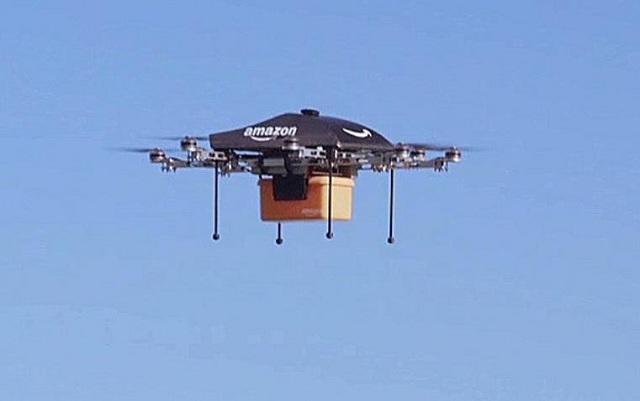 Με drones θα στέλνει προϊόντα στους πελάτες της η Amazon