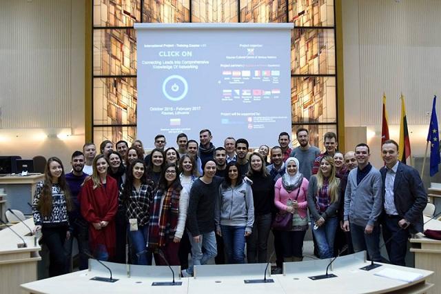 Το Σχολείο Δεύτερης Ευκαιρίας Βόλου στη Λιθουανία, μέσω του Erasmus+