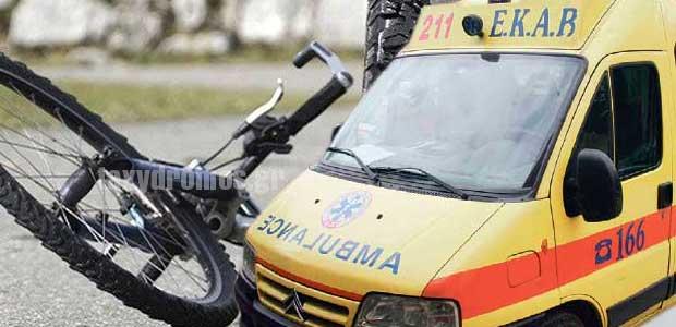 Ποδηλάτης έπεσε νεκρός στην Ρ. Φεραίου στο Βόλο