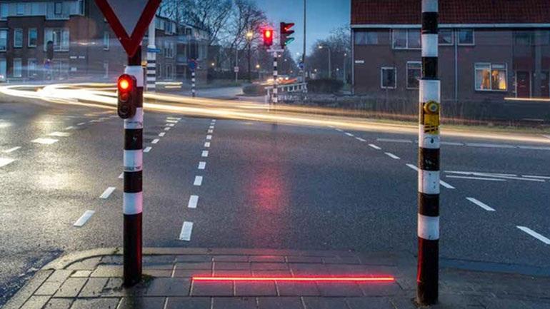 Πεζοδρόμια-σηματοδότες από… το μέλλον