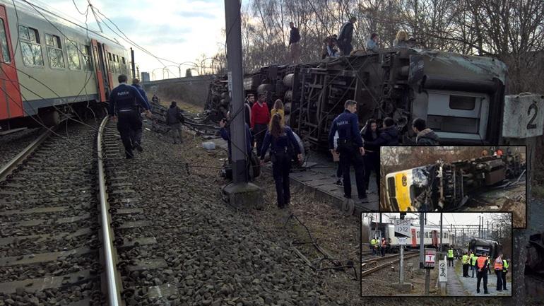 Δυστύχημα με τρένο στο Βέλγιο