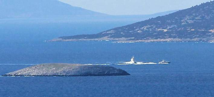 Νέα ένταση στα Ιμια: Tρεις ώρες «κυνηγητό» ελληνοτουρκικών πολεμικών σκαφών