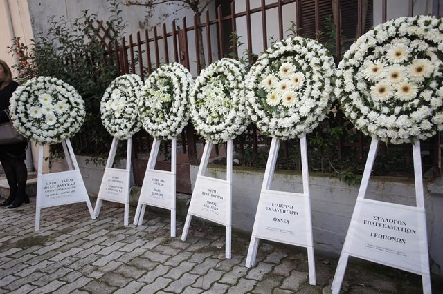Πλήθος κόσμου συνόδευσε τον Ευάγγελο Μπασιάκο στην τελευταία του κατοικία