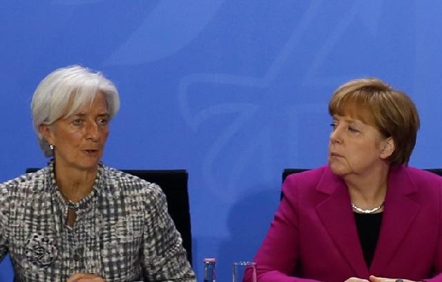 Γερμανικός Τύπος: Μέρκελ-Λαγκάρντ συμφώνησαν ότι το ελληνικό ζήτημα είναι «πονοκέφαλος»