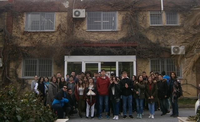 Εκπαιδευτική επίσκεψη μαθητών του ΕΠΑΛ Αγριάς στους «Μύλους Λούλη και στην «Εύρηκα»
