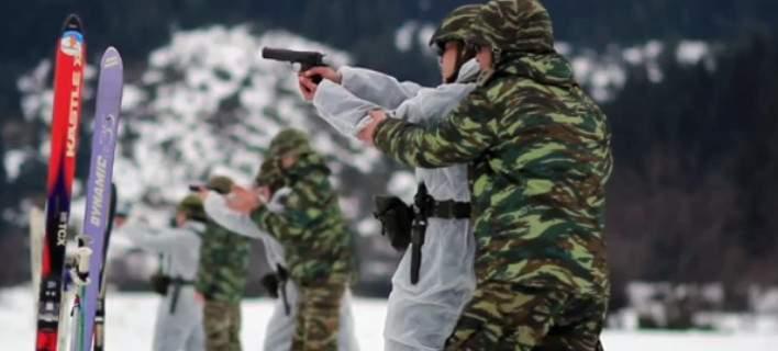 Η χειμερινή εκπαίδευση της Σχολής Μονίμων Υπαξιωματικών Τρικάλων [video]