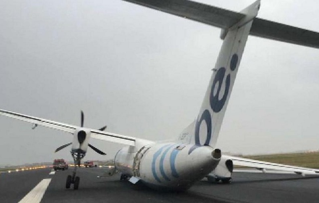 Τρομακτική προσγείωση αεροσκάφους σε αεροδρόμιο του Άμστερνταμ [videos]
